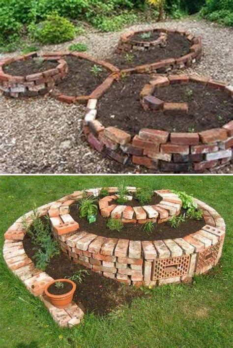 garden ideas diy best 25 brick garden ideas on paver patterns