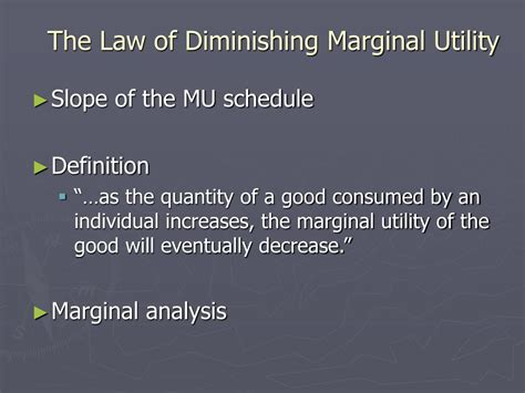 the law of diminishing marginal ppt behind the demand curve i powerpoint presentation
