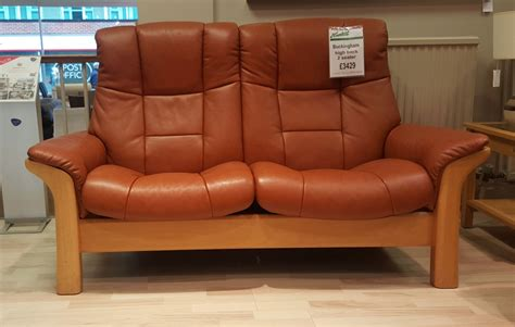 stressless buckingham 2 seater sofa stressless buckingham high back 2 seater sofa clearance