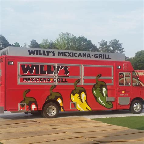 truck atlanta willy s mexicana grill atlanta food trucks roaming hunger