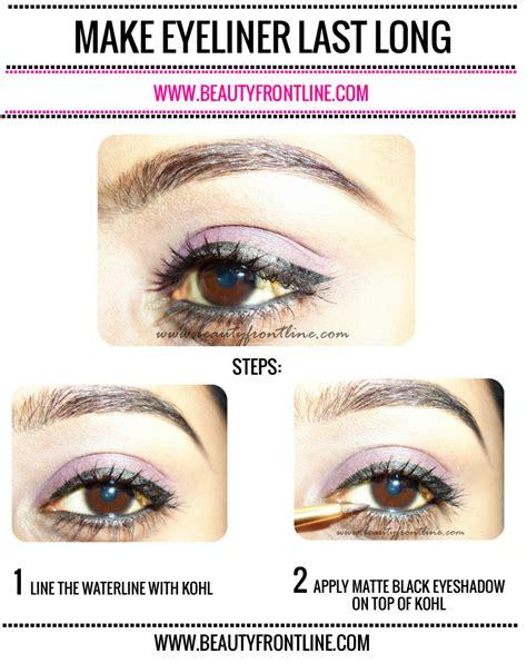 Eyeliner Tutorial Waterline | tutorial how to make eyeliner last on waterline beauty