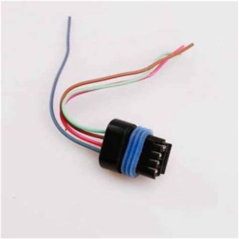 precision power speed resistor harness hvac blower motor resistor wiring harness pigtail connector repair kit 5017124ab automotive on