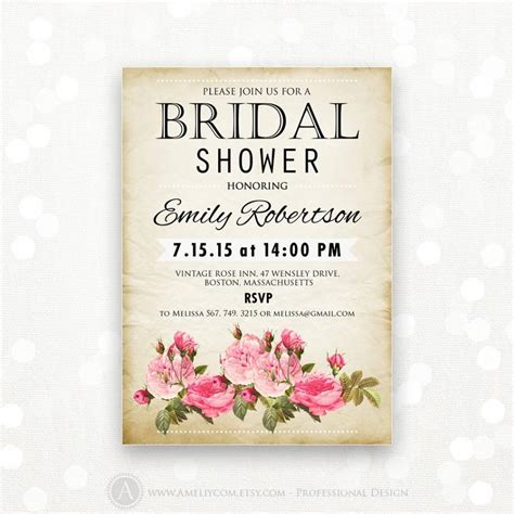 free printable vintage bridal shower invitations printable bridal shower invitation retro invite shower the