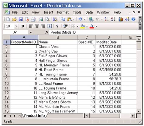 csv format how to how to import a csv file containing a column with a