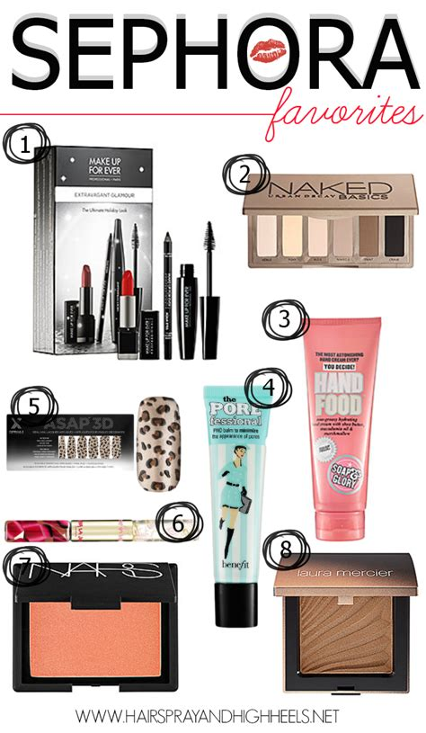 Best Of Sephora 2007 Vote Now Lipstick Powder N Paint best sephora products hairspray and highheels