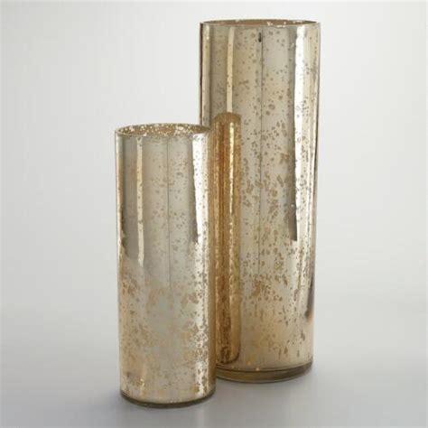 How To Make A Mercury Glass Vase by Chagne Mercury Glass Vase World Market