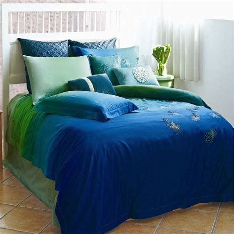 peacock feather comforter set peacock feathers duvet cover set peacock linens bedding