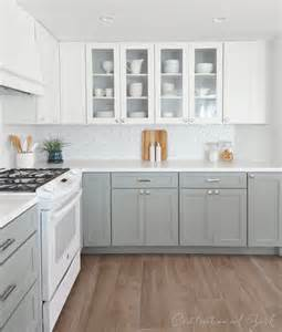 white and grey kitchens kitchen remodel centsational girl