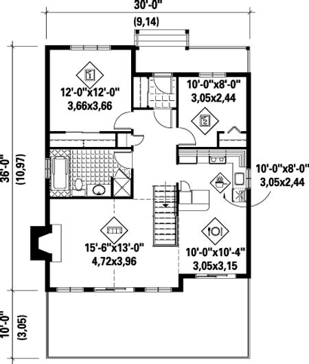 cozy cottage floor plans cozy cottage house plan 80553pm 1st floor master suite cad available canadian metric
