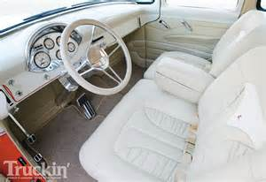 Upholstery Magazine Online 1956 Ford F100 Interior Photo 9