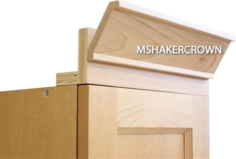 shaker kitchen cabinet crown molding 2 piece shaker crown molding with backer
