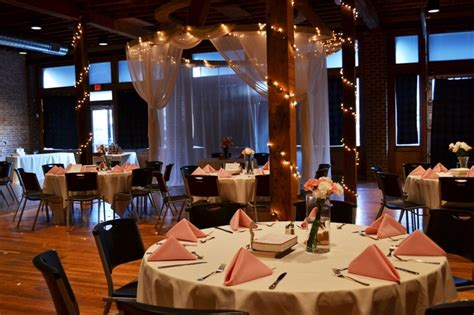 wedding and reception in same room reception and ceremony in the same room weddings at 425 downtown
