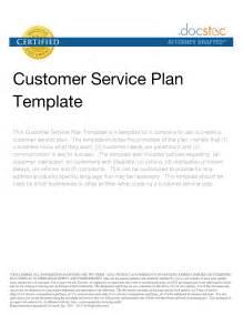 best photos of customer service plan outline sample