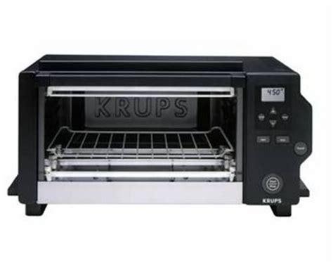 Krups 4 Slice Toaster Oven Sale Krups Fbc1 6 Slice Digital Toaster Oven Black