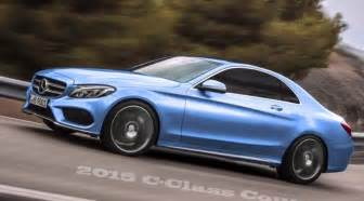 2015 mercedes c class coupe c205 rendered autoevolution