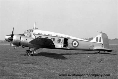 raf transport command a the aviation photo company anson avro raf transport command avro anson c 19 tx177 at