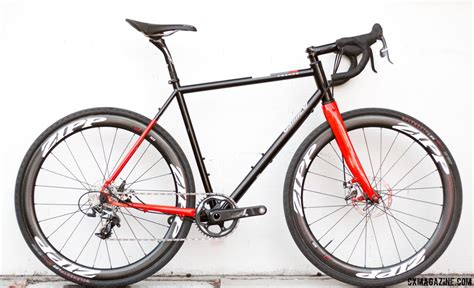 Handcrafted Bicycles - handmade in review franco grimes steel cyclocross bike