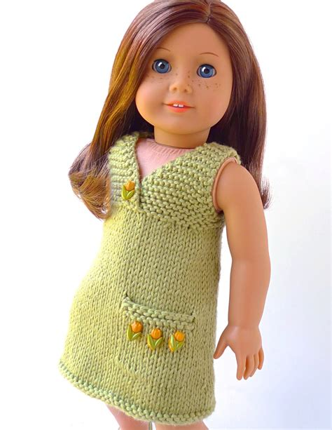 18 inch doll clothes knitting patterns doll clothes knitting pattern pdf for 18 inch american