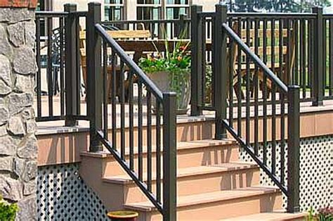 banister options the best deck railing designs and ideas
