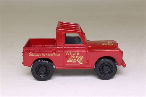 land rover corgi corgi 61209 land rover ser 2 88 truck cab cadbury s