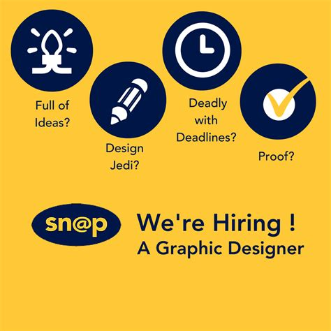 graphic design poster jobs senior graphic designer south dublin snap