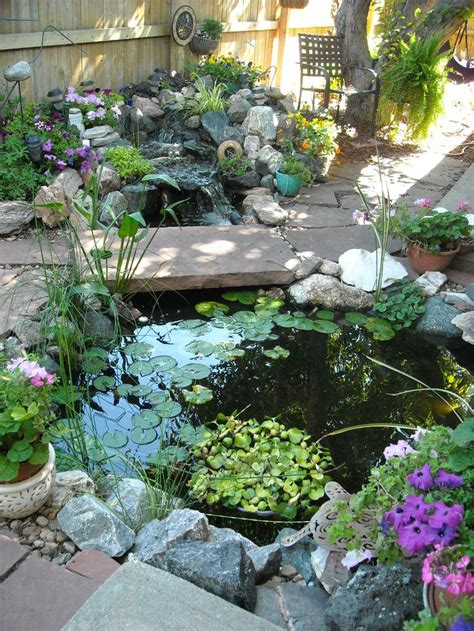 Small Water Garden Ideas Best 25 Small Backyard Ponds Ideas On Small Fish Pond Small Garden Ideas