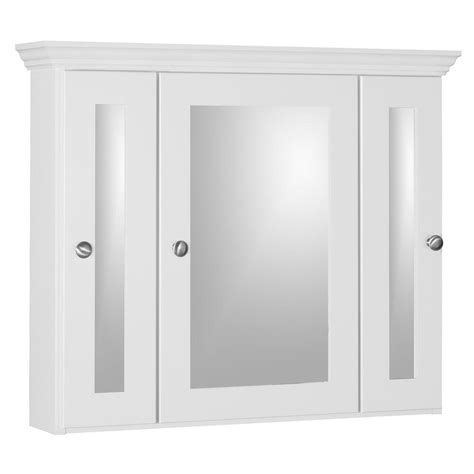white bathroom medicine cabinet simplicity by strasser shaker 30 in w x 27 in h x 6 1 2