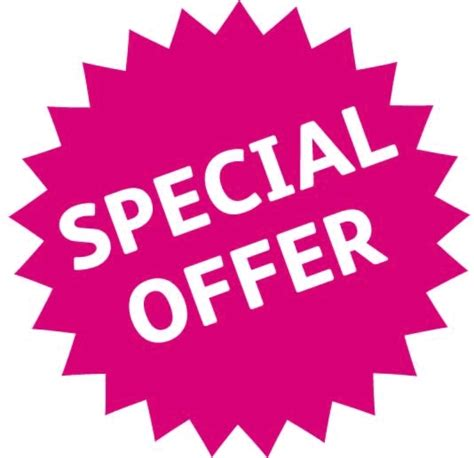 A Special Offer From by Special Offers L Ren