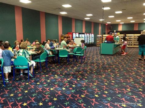 Bread Toasters Tour Temporary Food Court At Disney S All Star Music