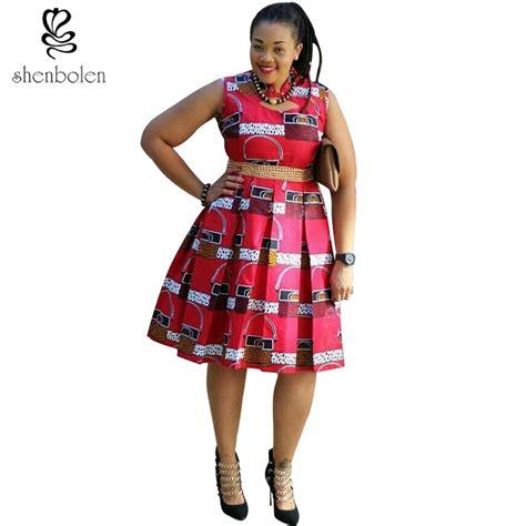 Miekalia Batik Sleeveless Mini Dress Size Xl ankara sleeveless knee length dress africa