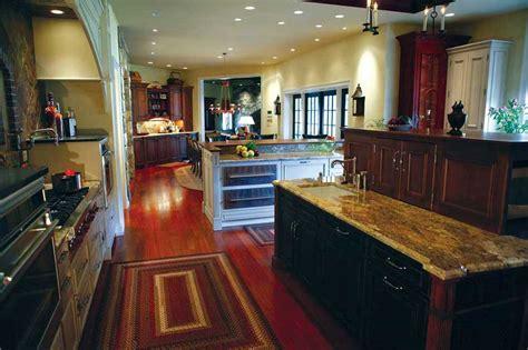 mixing kitchen cabinet colors subzero 27 quot refrigerator with wood panels giorgi