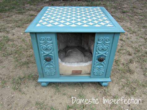 dog house end table end table dog house both domestic imperfection