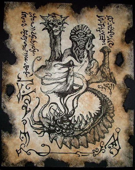libro medieval monsters paginas del necronomicon parte 2 lovecraft