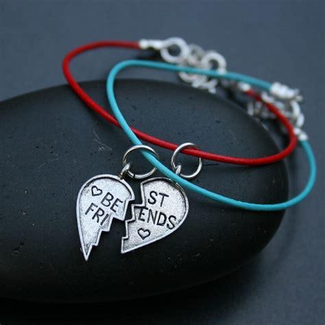 best friends leather friendship bracelets set of two
