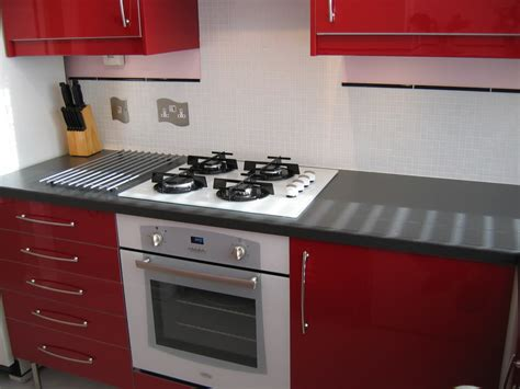 high cabinet kitchen high gloss kitchen cabinets kitchens charming red high