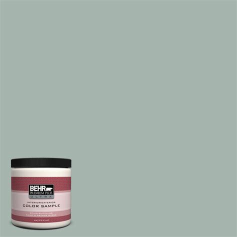 Home Depot Bathroom Flooring Ideas Behr Premium Plus Ultra 8 Oz 460e 3 Smokey Slate