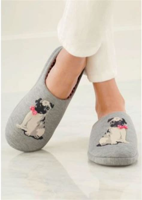 pug with pug slippers pug slippers pugs pugs and more pugs pug and slippers