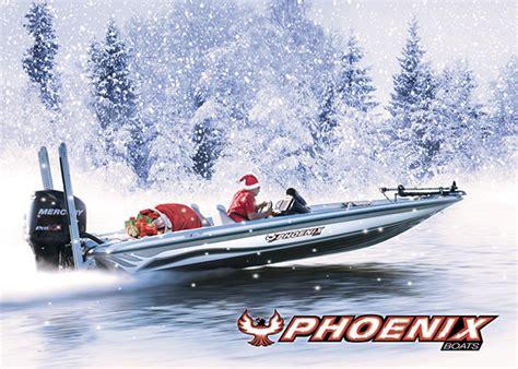 phoenix boats usa phoenix boats holiday card on behance