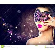 Masque De Port Carnaval Femme Sexy Photo Stock