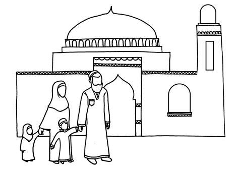 quran coloring book coloriage le vendredi 224 la mosqu 233 e ramadan