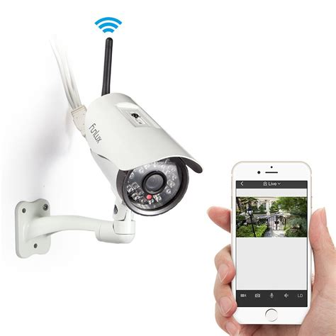 Cctv Wireles funlux 174 easy iphone mobile view setup 720p hd indoor