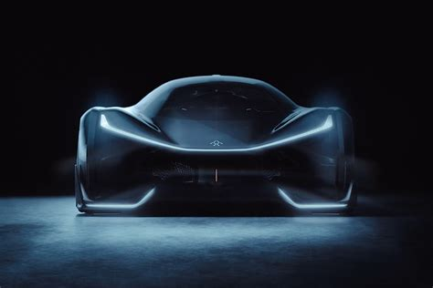 tesla supercar concept faraday future plant on hold amid production financing