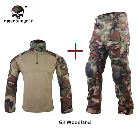 Sweter Boy Army Ab aliexpress buy emersongear clothes g3 combat shirt bdu airsoft