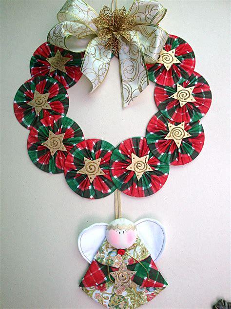 adornos navideos con reciclaje guirlanda de cd marina criativa elo7