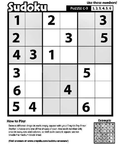 printable outside sudoku sudoku c 3 coloring page crayola com
