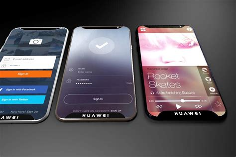 huawei p x concept goes edge to edge concept phones