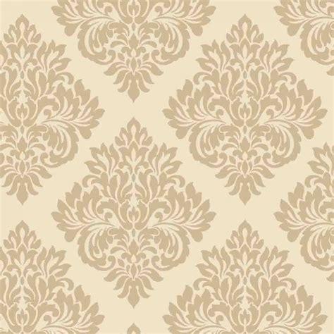 Word Stickers For Walls Uk decorline sparkle damask wallpaper cream gold dl40213