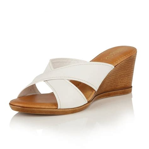 Wedge Mules leather mule sandals 28 images toms leather majorca