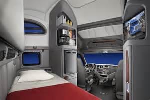 peterbilt debuts new vocational truck interiors sleepers
