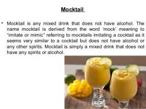 cocktail meaning cocktail and mocktail
